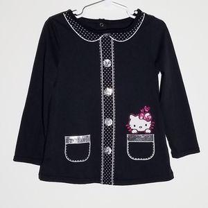 Hello Kitty Sanrio Tunic Shirt 4T